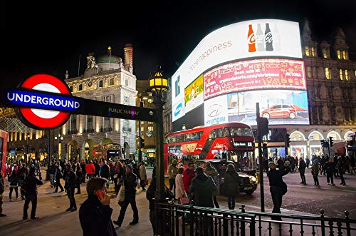 Photography Poster - London, Piccadilly Circus, England, 24