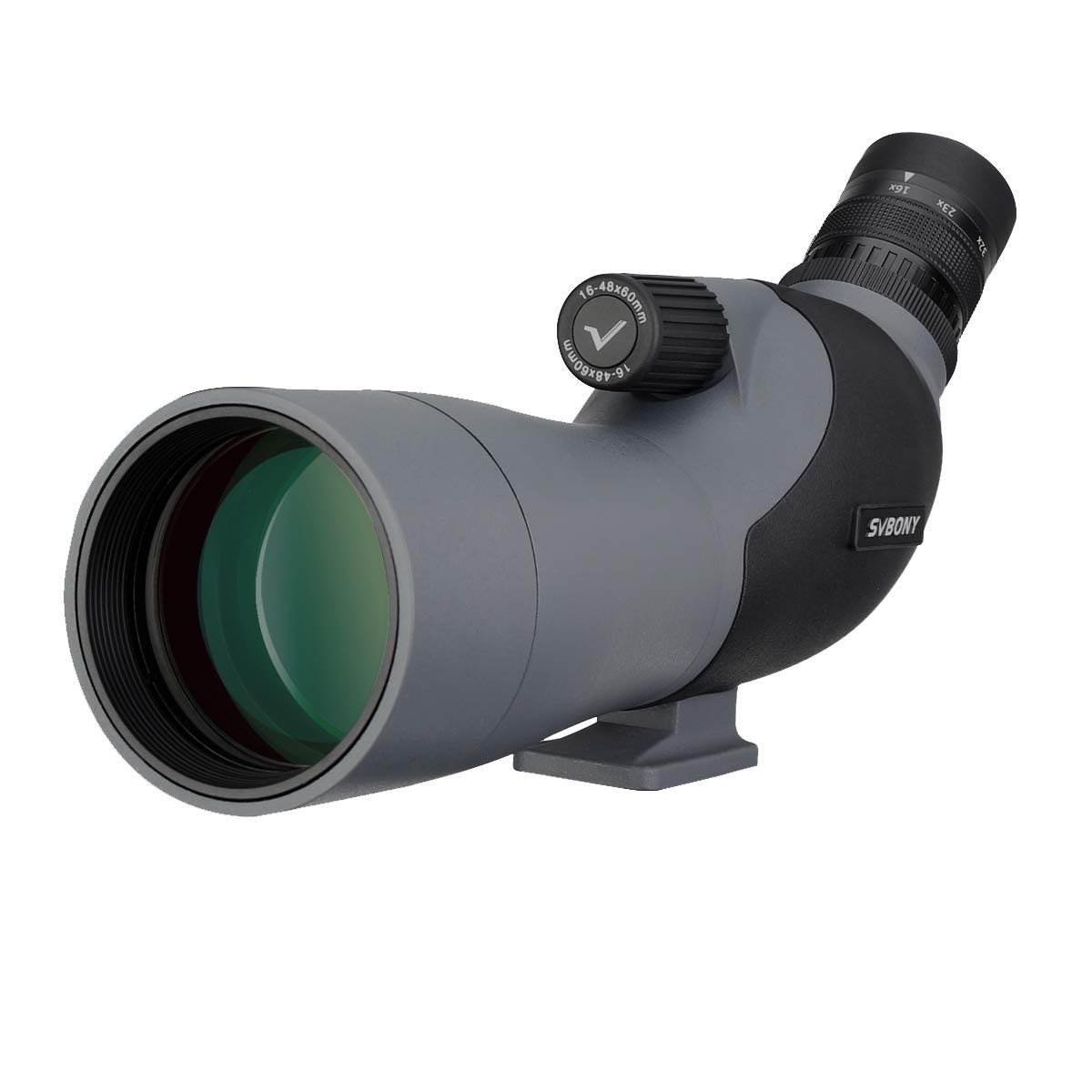 SVBONY SV402 Spotting Scope 16-48x60mm Waterproof Fully Multi-coated Optics for Bird Watching Target Shooting Hunting with Soft Case Easy to Carry by SVBONY