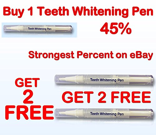 Ultimate Strength 44% Peroxide Teeth Whitening Pen Tooth Cleaning Bleaching - Shipping Usps Us To Uk From
