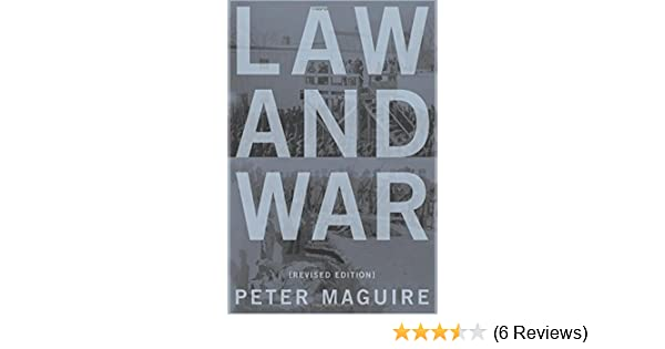 law and war maguire peter