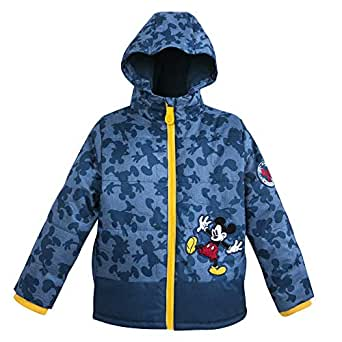 Disney Mickey Mouse Puffy Jacket for Kids - Size 2 Blue