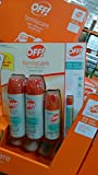 Off Family Care Insect Repellent Smooth & Dry 6oz(170g) X 2,2.5oz(70g),0.5oz