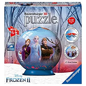 Ravensburger Frozen 2 3d Puzzle Ball Multicolore 11142