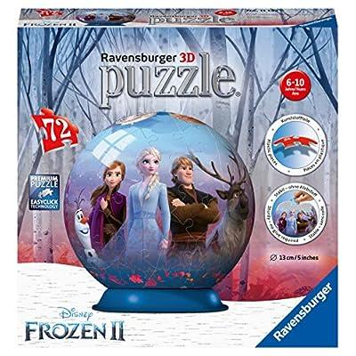 Ravensburger Frozen 2 3d Puzzle Ball Multicolore 11142