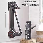Breeezie-Gancio-per-appendere-a-parete-per-scooter-Xiaomi-M365-PRO-e-scooter-elettrico-Ninebot-ES1-ES2-con-un-carico-massimo-di-50-kg-di-materiale-esterno