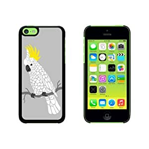 Cockatoo - Parrot Bird Snap On Hard Protective For HTC One M7 Phone Case Cover - Black