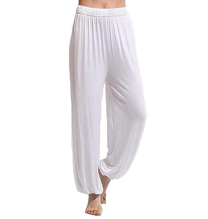 dududrz Pantalones Tai Chi Hombre Mujer Anchos Pantalones ...