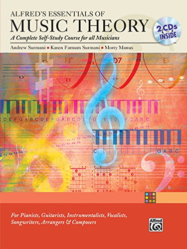 Alfred's Essentials of Music Theory: A Complete Self-Study Course for All Musicians (Book & 2 CDs) [Andrew Surmani - Karen Farnum Surmani - Morton Manus] (Tapa Blanda)