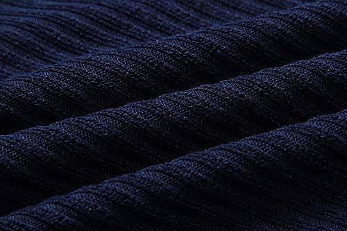 Maglioncini Monocromo Maglioni Maglieria Biran Lunga Grazioso Libero Collo A Rotondo Pipistrello Maglia Sciolto Invernali Manica Tempo Blau Autunno Eleganti Pullover Vintage Donna dOqxHOwR