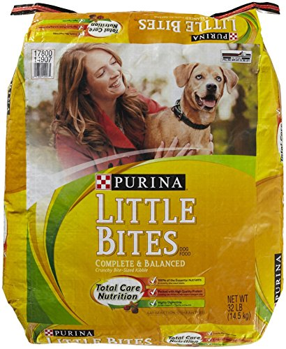 Purina 178149 Little Bites Indoor for Dry Dogs, 32-Pound For Sale