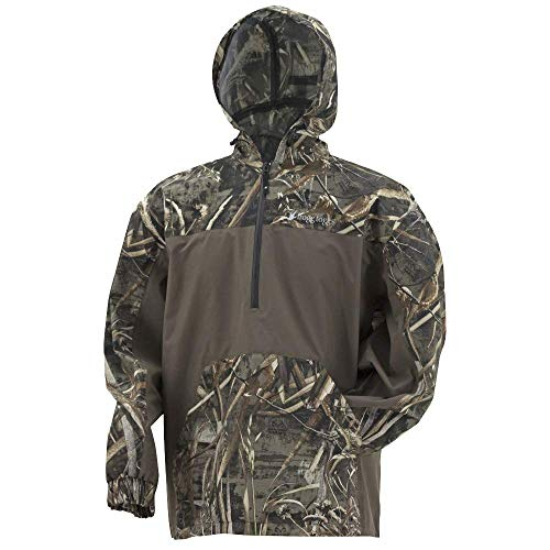 - Frogg Toggs Frogg Toggs Pilot Technical Hoodie, Realtree Max-5/Stone, Size X-Large Pilot Technical Hoodie, Water-Resistant, Realtree Max-5/Stone, X-Large
