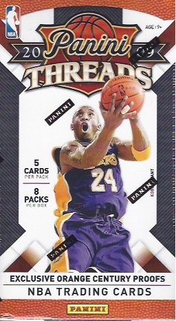 2009/10 2009 - 10 Panini Threads Basketball Factory Sealed Blaster Box 8 Packs ()