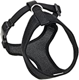 Coastal Pet Products DCP6313BLK Nylon Comfort Soft Adjustable Dog Harness, XX-Small, Black
