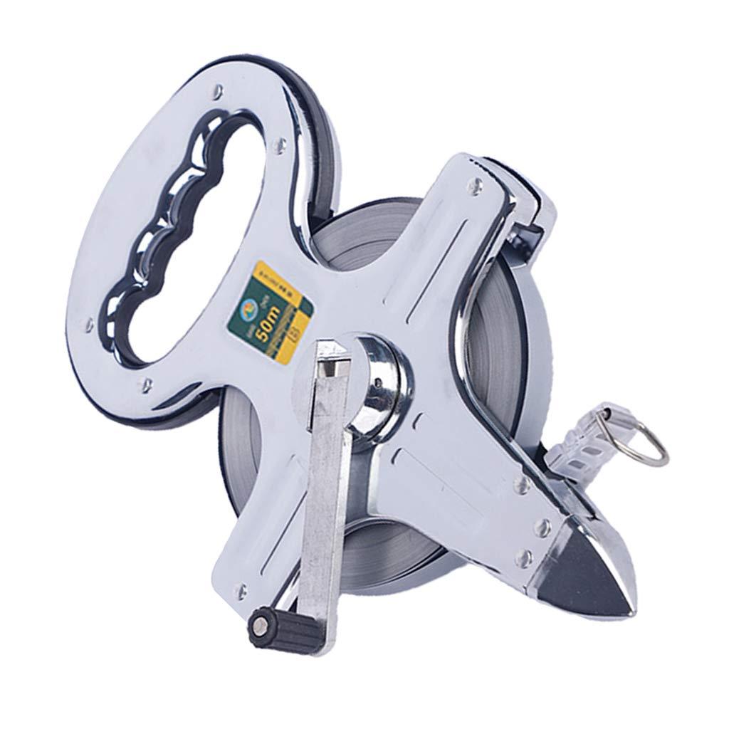 Metall Maßband Stahlbandmaß Rollbandmaß Rollmeter Messwerkzeug mit Griff