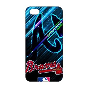 2015 Ultra Thin Atlanta Braves 3D Phone Case for iPhone 5s by runtopwell