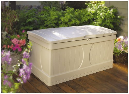 Amazoncom Suncast DB9000 Deck Box 99 gallon Garden Outdoor