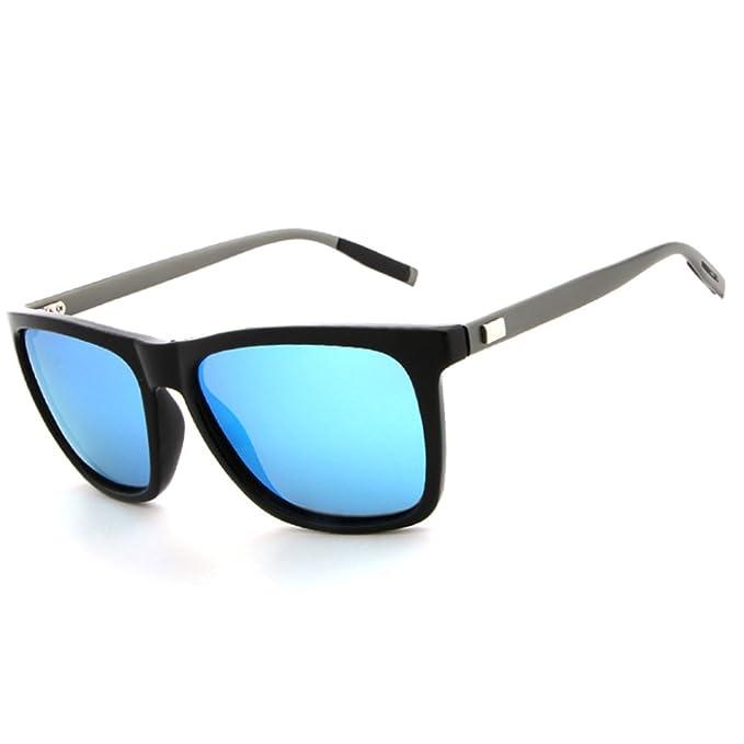 MERRYHE Unisex Wayfarer Gafas De Sol Polarizadas UV400 Lentes De Protección Para Hombres Mujeres Cool Retro