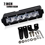 20 low profile led light bar - DOT Single Row 7