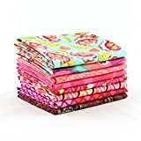 Eden Tourmaline Half Yard Bundle (TP.ED.TO.8HY) by Tula Pink for Freespirit