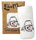 Love Mop Premium Cotton Sex Towel - Bachelorette Gift Wedding Bridal Shower Party