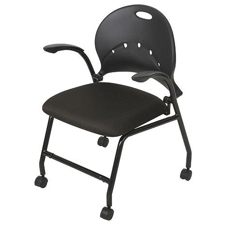 Balt nido ahorro de espacio silla con ruedas – negro