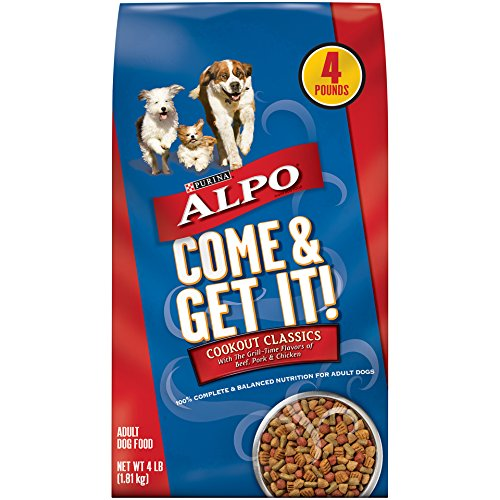 Purina ALPO Come & Get It! Cookout Classics Adult Dry Dog Food - (4) 4 lb. Bags
