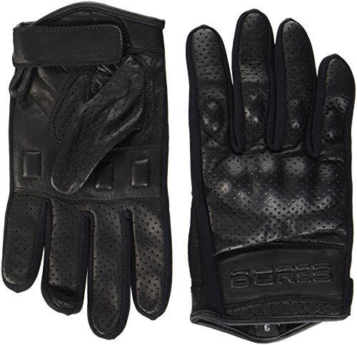 Pour Moto Handsc Huhe Black Perforée Taille Bores Été 9 Love Noir wCxIF1ttq