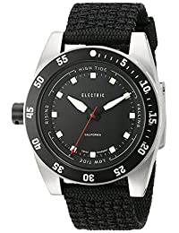 Electric Men's EW0140020001 DW03 Nato Band Analog Display Swiss Quartz Black Watch