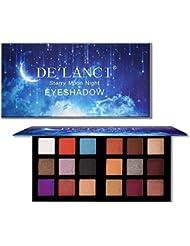 DE'LANCI 18 Colors Eyeshadow Makeup Palette with Mirror...