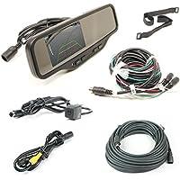 Rostra 250-8081 Heavy Duty Rear View Mirror Camera System