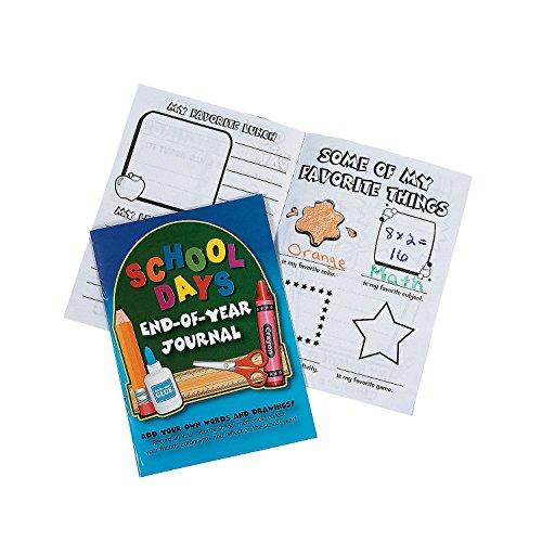 School Days Year Journals Dozen