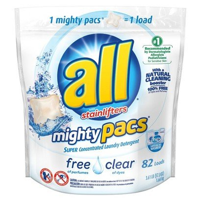 All Mighty Pacs with Stainlifters Free and Clear 82 Loads