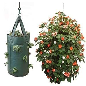 Nutley's Hanging Tomato Growbag Planter - Dark Green