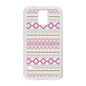 Nymeria 19 Customized Triangle Striped Diy Design For Samsung Galaxy S5 Hard Back Cover Case DE-45