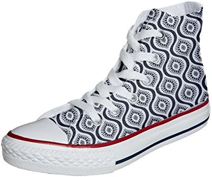 Originele Amerikaanse USA Custoomized sneakers (kunsthandwerk Artesano) Wave Paisley