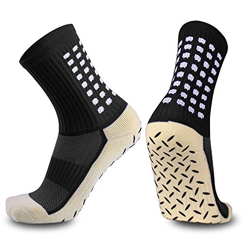 Anti Slip Non Slip,Non Skid Slipper Hospital,Sport,Athletic Socks with grips – DiZiSports Store
