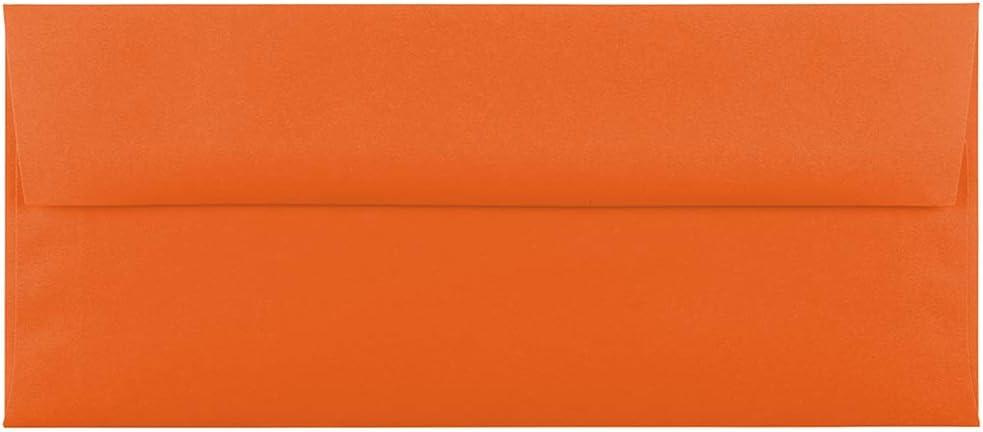 92,1 x 130,2 mm Arancione Riciclato 50//Pacchetto JAM PAPER Buste per Inviti Colorate