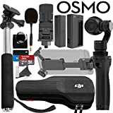 DJI OSMO Bundle: Includes SanDIsk 32GB MicroSD Card, Selfie Stick and more...
