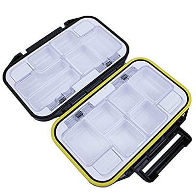 Meanhoo Fish Lure Tool Organize Waterproof Case Fishing Tackle Box Storage Case Lure Spoon Hook Bait Tackle fishing box