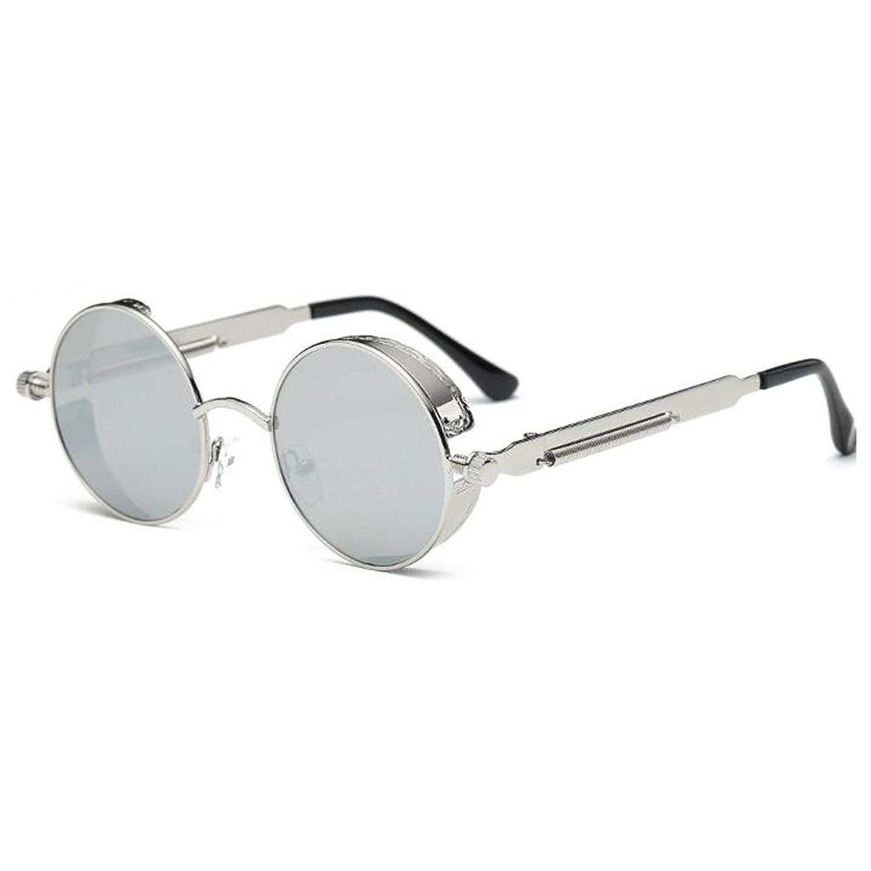 LHWY Femmes hommes été Vintage Retro lunettes de soleil ronde ... 294697f05582