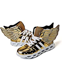 LED Light Up Shoes Running Shoes for Kids Boys Girls 4 Colors Flashing  Wings Sneakers a83d8ecc9c
