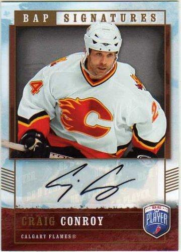 2006-07 Be A Player Signatures #CC Craig Conroy Autograph Card