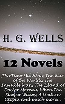 H G Wells Machine Invisible ebook product image