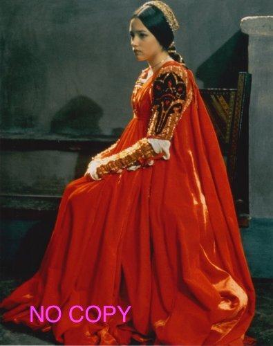 大きな写真、「ロミオとジュリエット」 赤ドレスのオリビアハッセー B005KQWUV6