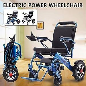 GFKSMS Leggero Portatile Sedia a rotelle Pieghevole Mobilità Electric Power per Vecchi Anziani disabili 17 spesavip