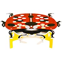 Goolsky Techboy TB-822 Ladybird DIY 2.4GHz Remote Control One-key Motion Controlling Drone RC Quadcopter with 3D Flip Function
