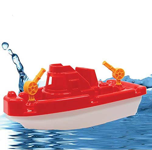 (Dazzling Toys Bath and Sand Plastic Tugboat. Assorted colors)