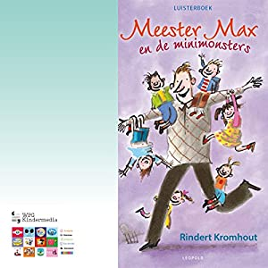 Meester Max en de minimonsters Audiobook