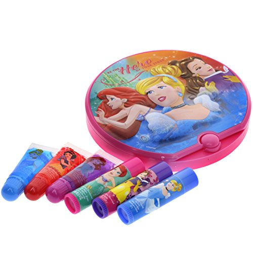 51M4l%2BTUB L - TownleyGirl Disney Princess Cosmetic Set with Nail Polish, Lip Gloss, Press-On Nails, Sandals, Toe Separators, and More