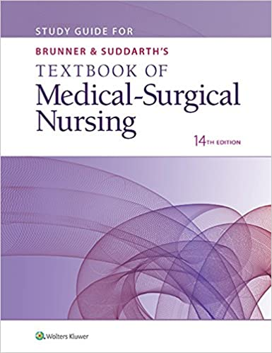 Brunner & Suddarth's Textbook of Medical-Surgical Nursing, 14th Ed., Hinkle & Cheever